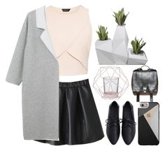 """""""// i'm not scared"""" by unicornskitkat ❤ liked on Polyvore featuring Proenza Schouler, Monki, Casetify and Bloomingville"""