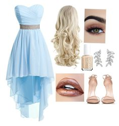 A fashion look from May 2017 featuring hi lo dresses, Stuart Weitzman and Carolee. Browse and shop related looks. Stuart Weitzman, Homecoming, Fashion Looks, Formal Dresses, Polyvore, Outfits, Shopping, Dresses For Formal, Formal Gowns