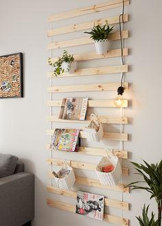 Nástenný regál DIY | Möbelix Blog