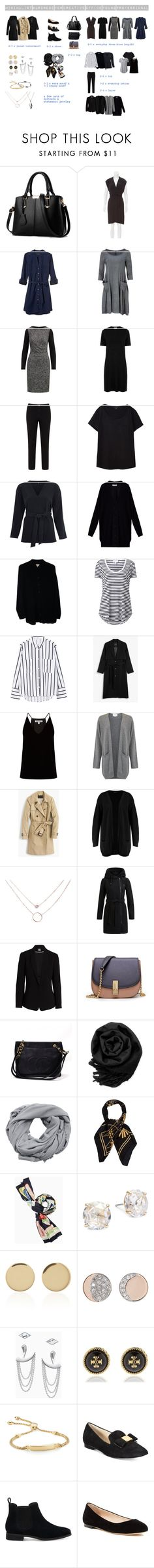 """""""Minimalist Wardrobe for Creative Office - Young Professional"""" by toukotakku on Polyvore"""