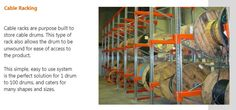 Macrack cable racking - for free design and quote call on 07 3343 9788 or visit http://www.macrack.com.au