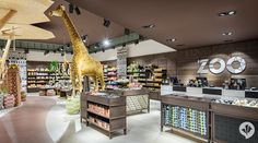 The shop concept for Wild Republic at Zoo Berlin's Löwentor designed by dan pearlman