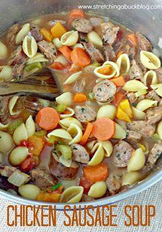 Chicken Sausage Soup Recipe