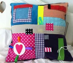 Sensory Cushion | Alzheimer's Society - Could be used for little people also...
