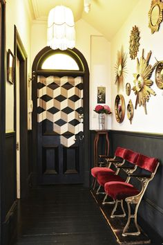 via The Aestate: {Glam Spot} French Flat in NW London