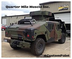 Slant back H1 Custom by Quarter Mile Muslce Inc. www.quartermilemuscle.com #Hummer #H1