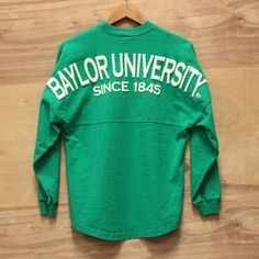 Emerald XS Baylor Spirit Football Jersey
