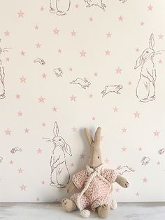 Rabbit All Star wall