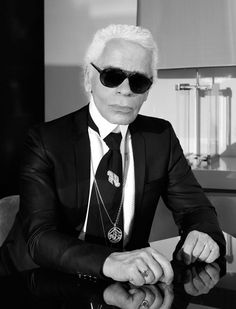 """Life as art.. the pinnacle of civilization. Perfecting your world does no harm and it's something you don't regret."" Wonderful. One of the most creative minds out there, and one of my all-time favorite artists, the one and only Karl Lagerfeld, he's so full of himself .. just like me, we share many similarities, thats why I love him!!!  ;)  Very sensitive and creative people need to stay away of the (normal & mediocre) routine crowd, and be alone to create their most beautiful #masterpieces…"