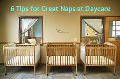 Tired of bringing home a cranky and overtired baby from daycare? 6 Tips to… Infant Room Daycare, Daycare Nursery, Infant Classroom, Daycare Setup, Kids Daycare, Home Daycare, Daycare Ideas, Preschool Ideas, Daycare Crafts