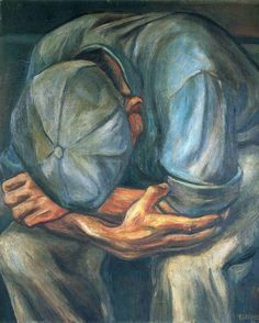 Will Barnet ~ Idle Hands, 1935 deperate