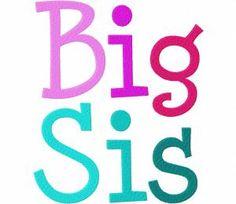 Big-Sis-Font  1″ 1.5″ & 2″