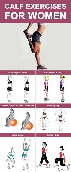 Best Calf Exercises For Women is part of fitness - These were some effective calf exercises for women Sexy, curvaceous calves are calling you! Start exercising today and discover a new you! Best Calf Exercises, Compound Exercises, Weight Exercises, Body Exercises, Corps Parfait, Yoga Pilates, Calf Raises, Calf Muscles, Physical Fitness