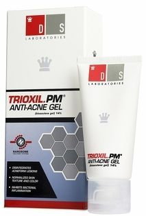 DS Laboratories Trioxil PM Anti-Acne Gel Trioxil (bisazulene gel) is a totally new innovation in acne treatment. Acne Facial, Benzoyl Peroxide, Salicylic Acid, Jelsa, Tea Tree Oil, Acne Treatment, Active Ingredient, Moisturizer, Skin Care