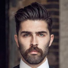 Handsome beard styles for men 15 best small short beard styles that best men s haircuts for your face shape best beard styles for men. Mens Hairstyles Oval Face, Classic Mens Hairstyles, Cool Hairstyles For Men, Hairstyles Haircuts, Haircuts For Men, Pompadour Hairstyle For Men, Men's Pompadour, Medium Hairstyles, Hairstyle Ideas