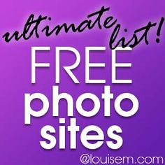 Looking+for+free+photo+sites?    Here's+the+ultimate+list!+All+the+best+places+to+find+images+for+blogs+and+social+media.    When+you're+looking+for+free+pictures+on+these+sites,+be+sure+to+check+any+licensing+restrictions.+Many+sites+will+allow+you