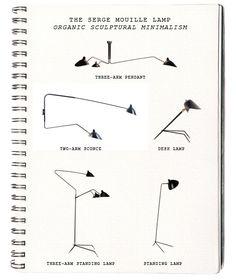 La Dolce Vita: Design Under the Influence: The Serge Mouille Lamp Interior Lighting, Home Lighting, Modern Lighting, Lighting Design, Futuristic Lighting, Light Art, Lamp Light, Chaise Panton, Serge Mouille