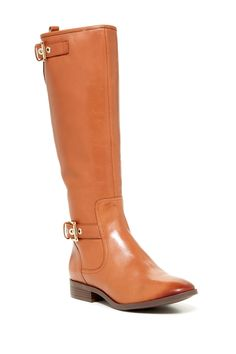 Nine West Bring It Leather Boot by Nine West on @nordstrom_rack