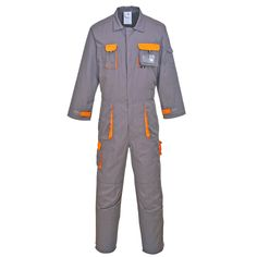 Amazon.com: Portwest Unisex Mens/Womens Texo Contrast Protective Coverall / Workwear: Clothing
