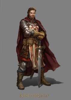 Character for Kings of the realm: https://kingsoftherealm.com/, https://www.facebook.com/pages/Kings-of-the-Realm/285328664919928?fref=ts