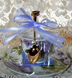 Tea Themed Tea Party Bridal Favors with Tea Bag Tea Cup Spoon Theme – Roses And Teacups