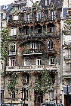 Art Nouveau Building 22 av