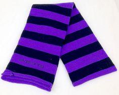 Five-Forty Scarf Black/Vivid Purple
