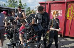 Matthew Daddario & Katherine McNamara BTS of Shadowhunters 1x05