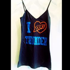I heart okc thunder dress $42 Www.royceclothing.com @Jamie Meltzner should get this!
