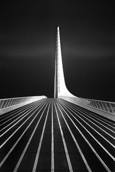 Sundial Bridge #2 - Sharon Tenenbaum, Fine Art Photography Designed by Santiago Calatrava 1st Place 2013 International Photography Awards - Architecture, Bridges