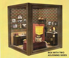 ROOMS & DISPLAY BOXES FROM PICTURE FRAMES