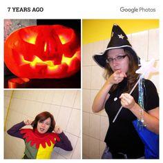 Хелоуин. Семилетней давности. Мы с @polinka_era поторчали в Точке позависали в Якитории и в середине ночи решили ехать на вокзал XD остаток ночи протусили в зале ожидания и на первой электричке уехали домой  #googlephotos