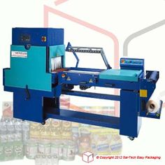 STEP Shrink Wrapping Machine Semi-auto L-Sealer with tunnel. Wrapping Machine, Packaging Machine, Shrink Wrap, Shrink Plastic