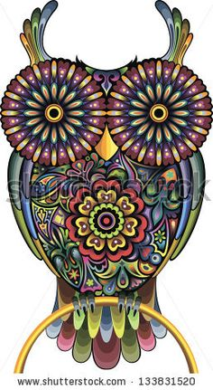 Funny owl by cupoftea, via Shutterstock