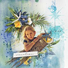 Ocean Vibes: BBD Bundle by et designs photo anarud use with permission Poppies, Beautiful Pictures, Ocean, Scrapbooking, Painting, Shop, Design, Art, Craft Art