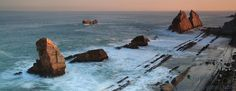 Amanecer en la Costa Quebrada en Cantabria. #Arnia #Cantabria