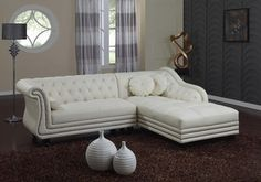 Decor Of White Leather Sectional Sofa With Chaise Furniture Modern Green Accent When It Involves Sofas The Choi