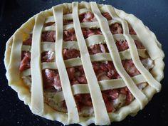 Rabarbertærte med makronbund – foodinmybelle