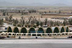 Kandahar Airport in Kandahar, Afghanistan