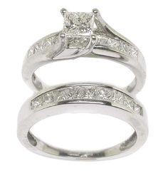 Rose Gold Engagement Rings Princess Cut 48