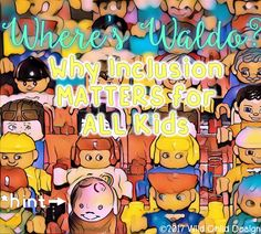 Remember those Where's Waldo? books?  My nieces and nephew adored those books when they were younger.  We'd spend hours looking for Wal...