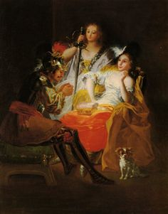 Francisco de Goya - Hercules and Omphale oil on canvas - 1784