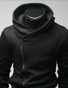 2011 Fashion Diagonal zipper Korean male fashion
