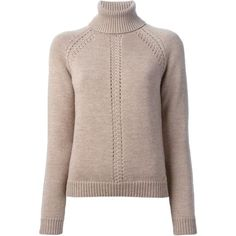DSQUARED2 turtle neck sweater ($440) ❤ liked on Polyvore featuring tops, sweaters, brown, turtleneck tops, turtle neck sweater, brown turtleneck sweater, long sleeve sweaters and dsquared2