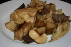 Roasted cabbage and potatoes in the crockpot slow cooker recipe