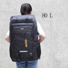 waterproof unisex men backpack travel pack sports bag pack Outdoor Mountaineering Hiking Climbing Camping backpack for male Men's Backpack, Hiking Backpack, Travel Packing, Travel Bags, Cool Backpacks, Mountaineering, Herschel Heritage Backpack, Luggage Bags, Bag Pack