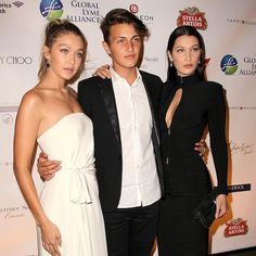 """""""Both #BellaHadid and #AnwarHadid have been fighting Lyme disease for the last few years. The full family stepped out last night to support the fight…"""""""