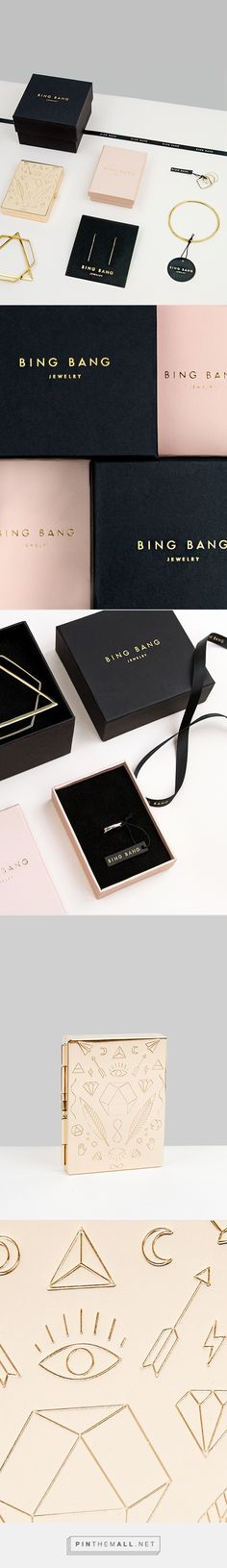 Bing Bang Jewelry Branding & Packaging on Behance