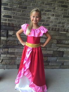 Elena of Avalor inspired dress by tootietots on Etsy