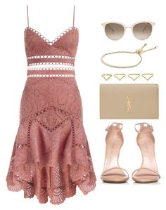 """Sin título #12614"" by vany-alvarado ❤ liked on Polyvore featuring Zimmermann, Stuart Weitzman, Yves Saint Laurent, Michael Kors, Chopard and Ana Khouri"